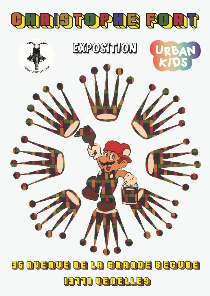 affiche expo fort et urban